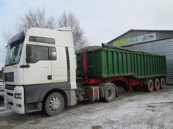Birių krovinių pervežimai