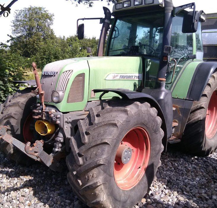 Traktorius Fendt 716